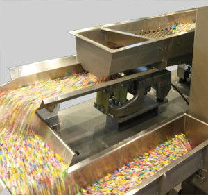 vibrating feeder / sanitary / for food products