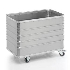 transport cart / aluminum / for heavy loads / for linen