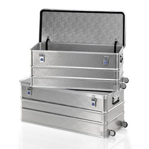 aluminum crate / storage / transport / handling