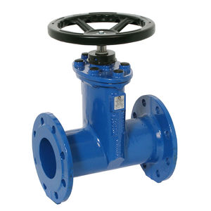 gate valve / with handwheel / for potable water / flange