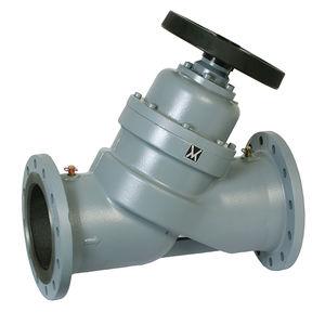balancing valve / disc / with handwheel / flange