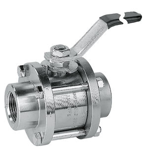 ball valve / lever / for gas / female-female