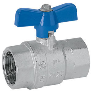 ball valve / manual / for gas / female-female