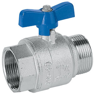 ball valve / manual / for gas / male-female