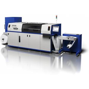 in-line flexographic press