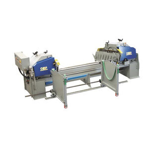 deburring finishing machine / linear / for tubes / automatic