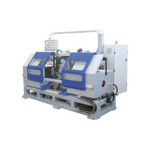 chamfering finishing machine / linear / for tubes / for bars
