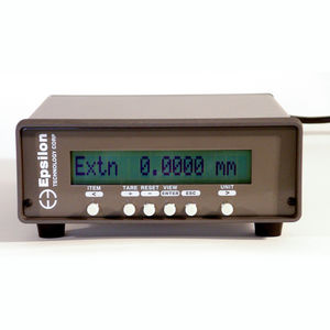 benchtop signal conditioner / digital / with display / load cell