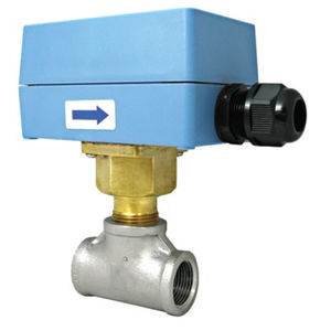 paddle flow switch / for liquids / stainless steel / brass