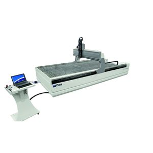 water-jet cutting system / sheet metal / 5-axis / compact