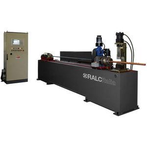 automatic punching machine / tube / copper / punching