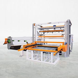 cutting loading and unloading system