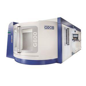5-axis CNC machining center / horizontal / compact / modular
