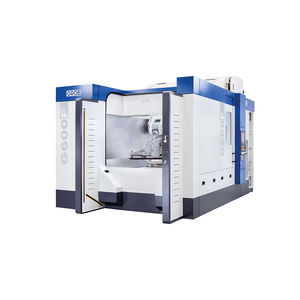 3-axis CNC machining center / universal / compact / with integrated pallet changer