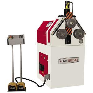 hydraulic bending machine / motorized / for tubes / profile
