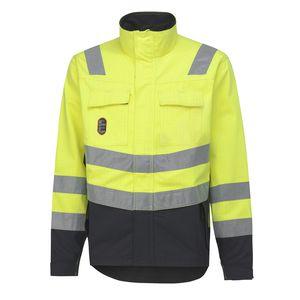 work jacket / high-visibility / fire-retardant / anti-static