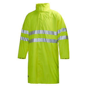 work lab coat / waterproof / high-visibility / waterproof fabric