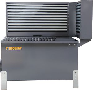 grinding process downdraft table
