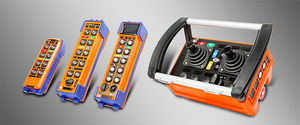 radio remote control / with buttons / joystick / rugged