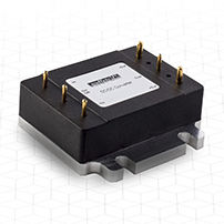 SMD DC-DC converter / encapsulated / regulated / for mobile devices
