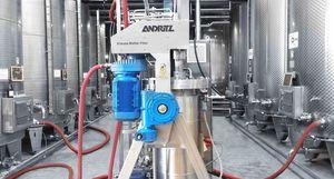 hydrodynamic filtration unit