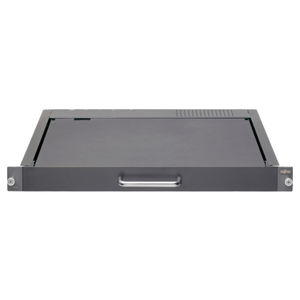 rack drawer keyboard / with mechanical keys / without pointing device / with LCD screen