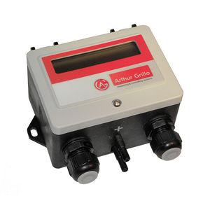 differential pressure flow regulator / diaphragm / Venturi / for air