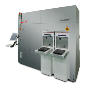 automatic inspection machine / for wafers / defect / sorting