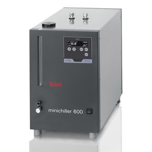air recirculation chiller / water / laboratory / for the food industry