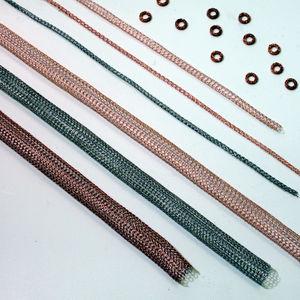 spring-loaded gasket / steel / copper / EMI shielding