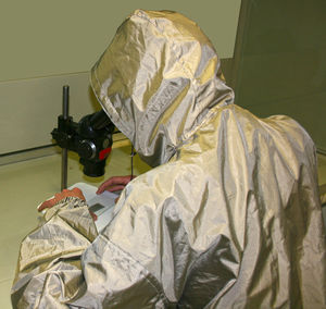 work coveralls / chemical protection