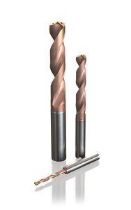 solid drilling tool / multi-purpose / carbide / twist
