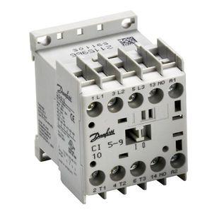 miniature contactor / power / IEC / compact