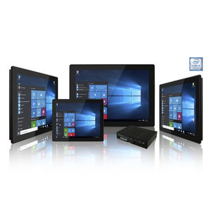 multitouch screen HMI / panel-mount / wall-mount / VESA mounting