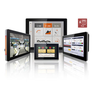 multitouch screen HMI / panel-mount / wall-mount / VESA mounting