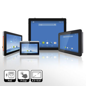 compact HMI terminal / multitouch screen / panel-mount / embedded