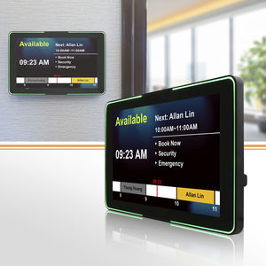 access control HMI terminal / multitouch screen / panel-mount / wall-mount