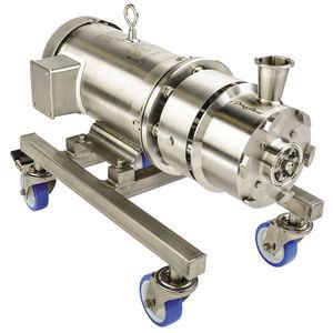 rotor-stator mixer / in-line / for liquids / solid/liquid