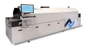 reflow brazing machine / automated / continuous / for electronic components
