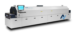 reflow brazing machine / continuous / for electronic components