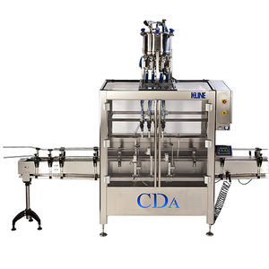 automatic filler / for the food industry / for the chemical industry / for oil
