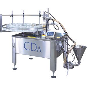 automatic filling machine / for the food industry / for food / for pasty products