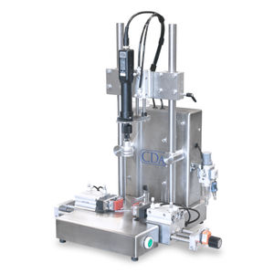 semi-automatic screw capping machine / screw / for bottles / for the chemical industry