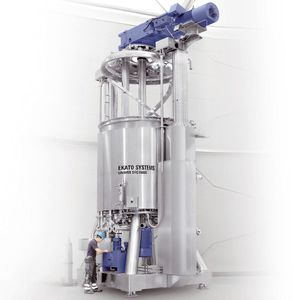 ribbon mixer / batch / for liquids / for the chemical industry