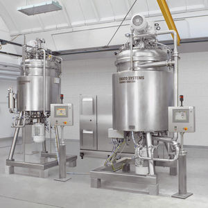 rotary drum mixer / batch / for liquids / for the food industry
