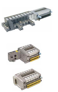 spool pneumatic directional control valve / pneumatic / compact / fieldbus