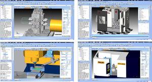 simulation software / CAD/CAM / for CNC machines