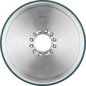 surface treatment wheel / cylindrical / vitrified-bonded CBN / for camshafts