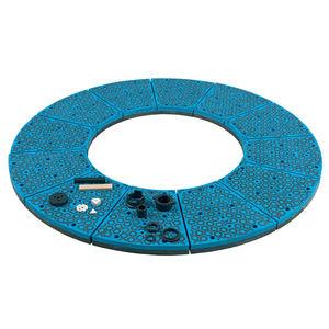 diamond abrasive disc / for grinding / for metal