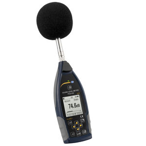 integrating sound level meter / with analysis function / class 1 / digital